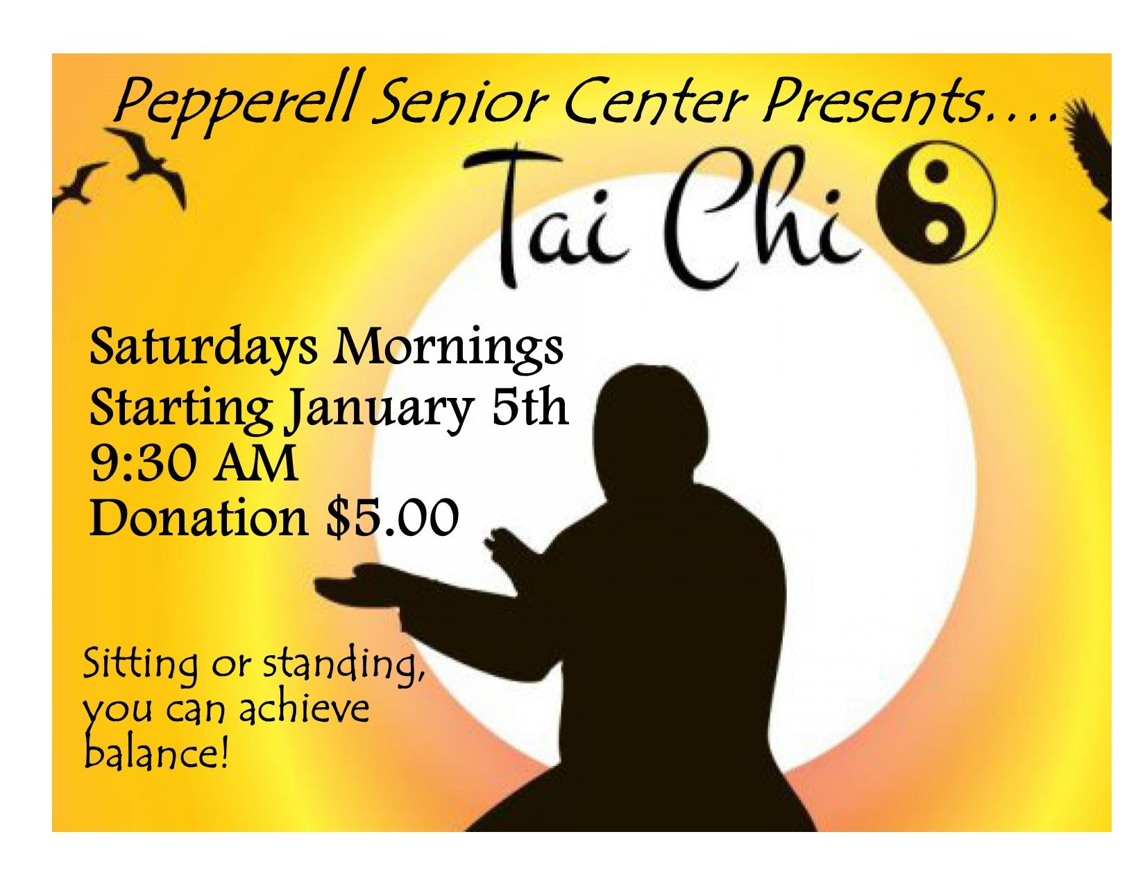 Tai Chi Saturdays _for Video on Demand